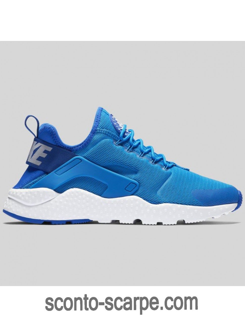 Nike Air Huarache Run Ultra Photo Blu/Bianche 819151-400 Su Discount