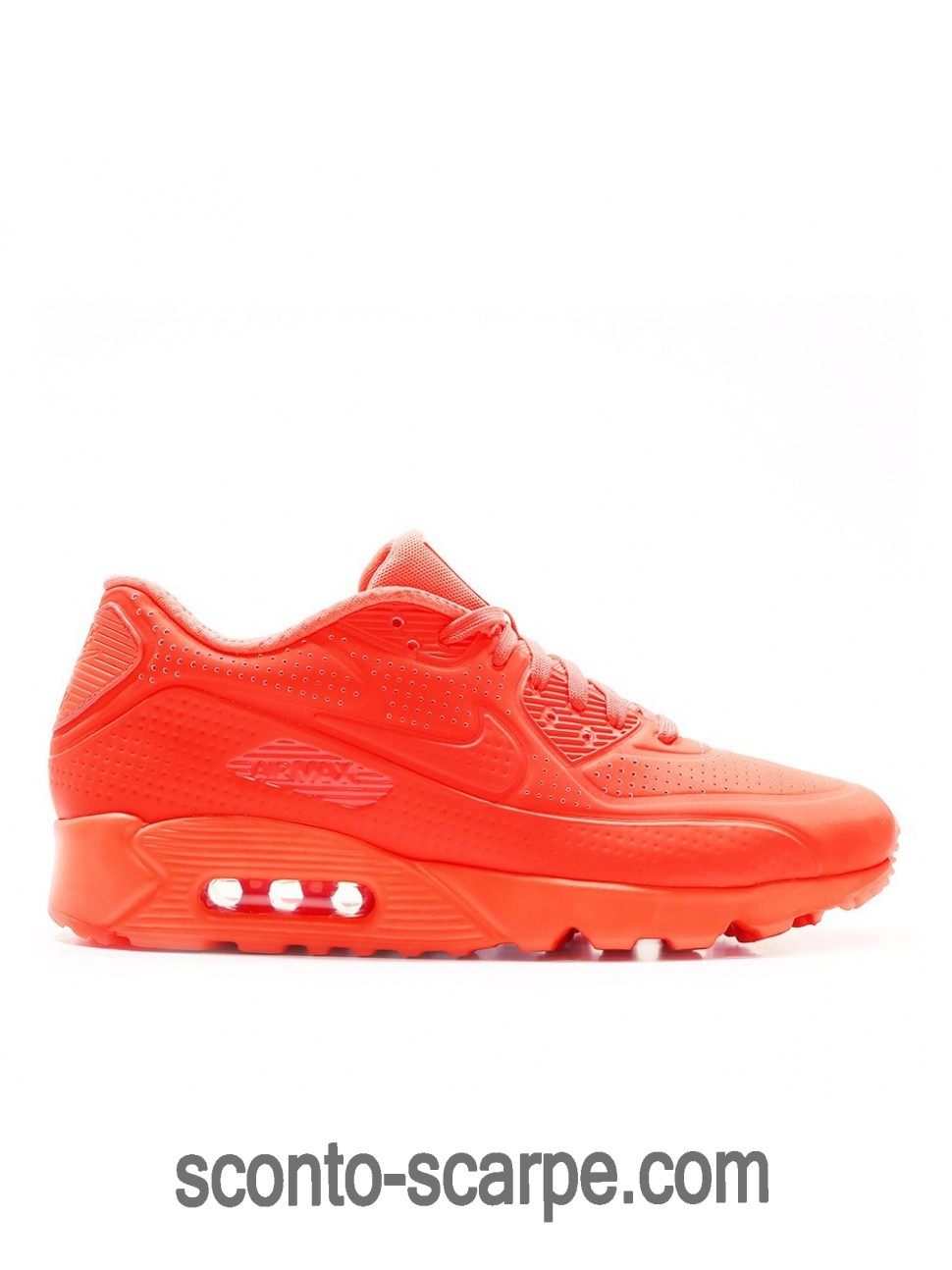 Nike Air Max 90 Ultra Moire Neon Luminoso Cremisi 819477-600 48% Spento