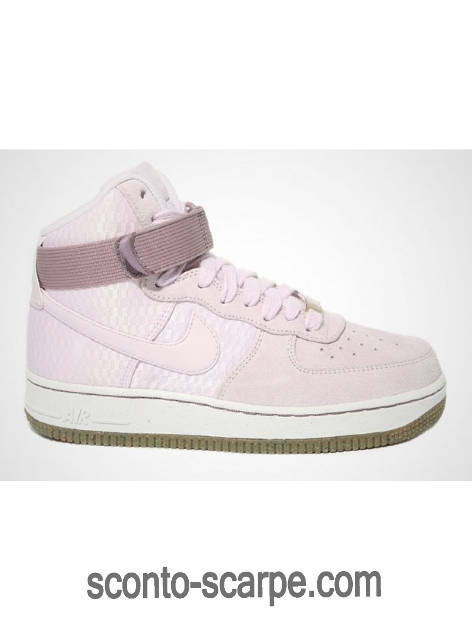 Nike Air Force 1 High Bleached Lilla/Bleached Lilla 654440-500 Elenco Sconti