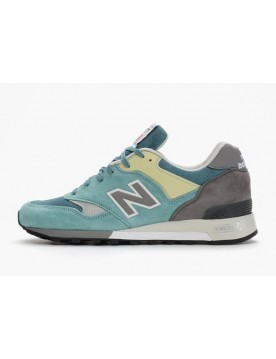 New Balance 577 English Tender Pack Inspired By Money Scamosciato Teal Verde Grigie Aqua Blu Spedizione Rapida