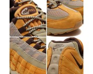 Nike Air Max 95 Wheat Bronzo/Barocco Marrone-Bambù Marrone 538416-700 Problema Con Uno Sconto
