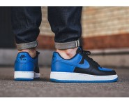 Nike Air Force 1 Low Royal Nere/Blu-Bianche 820266-010 Su Discount